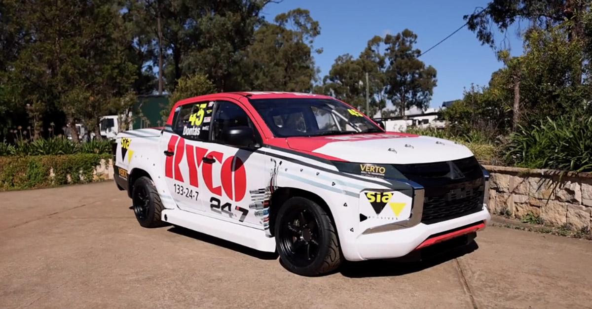 RYCO 24•7 Sponsor V8 SuperUtes Team Triton